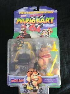 Nintendo Video Game Super Stars Mario Kart 64 Action Figure Donkey Kong NEW