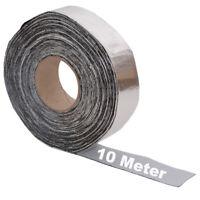 10 lfm Rolle Alu Butyl Dichtband, Butylband, Abdichtband, Klebeband, 50mm