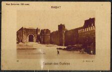 Chromo-Nos Colonies-Le Gaulois-Ets Bergougnan-Rabat-Cabah des Oudaïas-Réf.178
