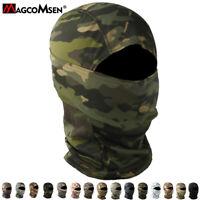 Tactical Camo Balaclava Full Face Mask Hunt Bike Military Combat Airsoft Gears