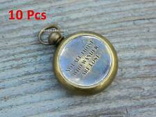 Necklace Compass32mm Pendant Working Compass Solid Brass Lot of 10