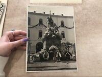 FOTO FOTOGRAFIA CASERMA ALPINI LUIGI PIGLIONE 1932 Ora CASERMA GUARDIA FINANZA