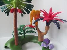 Playmobil Dinosaure/jungle/safari décor: PALMIER, plantes tropicales et Fougères NEUF