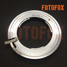FOTOFOX Lens Adapter for Sony NEX E-Mount Lens to Nikon Z Camera Nikon Z6 Z7
