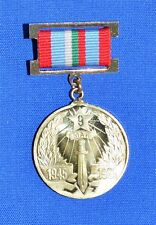 Bulgarian Army Communist MEDAL Badge 40 Anniversary of WW2