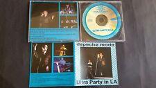 Depeche Mode Ultra Party in LA 1997 Live CD Dave Gahan Martin Gore Very Rare