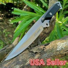 Fixed Blade Knife Hunting Survival Rescue Sharp Excellent Gift Straight Knives