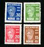 Norway Stamps # 145-8 VF OG NH Catalog Value $50.00