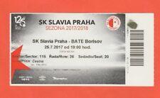 ORIG. ticket Champions League 2017/18 slavia praga-bate borisov rara vez!!!