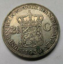 More details for 1930 netherlands 2.5 guilders holland coin (328)