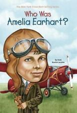 Who Was Amelia Earhart? by Jerome, Kate Boehm; Who HQ