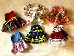 THESE 6 OUTFITS WILL FIT THE 14 INCH BABY ALIVE DOLL