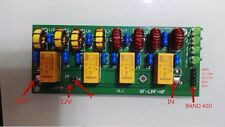 NEW 12v 100W 3.5Mhz-30Mhz HF power amplifier low pass filter KIT