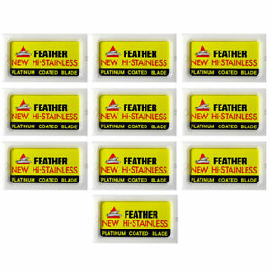 Feather Hi-Stainless Double Edge Blades (100)