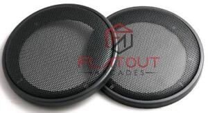 "4"" 100mm Speaker Grills/Covers Universal Fitment Pair Car/Caravan/Home"