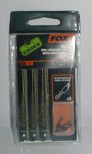 Fox Edge: leadcore leaders 45lb with kwik change kit light camo par 3