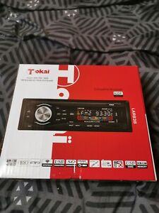 Autoradio Tokai 4x45w Bluetooth/FM/USB/SD/FRONT AUX-IN état neuf jamais servie