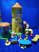 Peppa Pig fairy castle, built in swing, furniture, figures king, princess crown