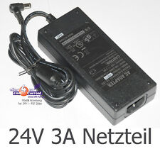 24 Volt 3a Alimentatore ADAPTOR 24v per DRUCKEК INTERMEC EasyCoder PSU 72 Watt Power