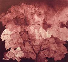 "G H Rothe ""Mindscape"" Hand Signed & Numbered ORIGINAL ART Mezzotint Etching"