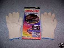 AMAZING GLOVE Oven mits Hot heat surface Miracle gloves 2 ove in pkg NIB