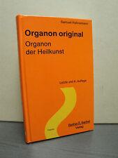 Organon original samuel Hahnemann Organon des art de guérir