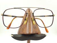 Vintage Les Lunettes Essilor Logo Paris 548 07 Gold Aviator Sunglasses Frames