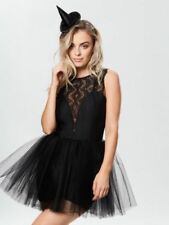 Ann Summers Wicked Witch Fancy Dress Sexy Outfit Black size S 8 - 10 Halloween