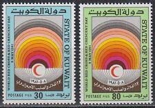 Kuwait 1981 ** Mi.889/90 Red Cross Rotes Kreuz Medizin Medicine