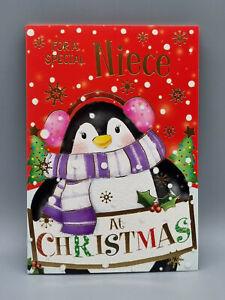Niece Christmas Card, To a Very Special Niece Xmas Card Merry Christmas