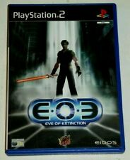 EOE EVE OF EXTINCTION for PLAYSTATION 2 RARE & HARD TO FIND