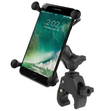 RAM Tough-Claw Rail / Handlebar Mount with X-Grip Holder for Lager Phones / GPS