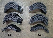 24 Each Lh&Rh Tiller Tines for John Deere 665 Tiller Lvu14877 & Lvu14879