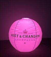 Moët Chandon Ice Imperial LED GIGANTE ACQUA BALL PALLA Floating CHAMPAGNE Decorazione