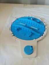 Thomas & Friends Tomy Trackmaster 2004 Blue Round About STOP/GO Turning Track