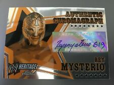 2006 TOPPS WWE HERITAGE CHROME REY MYSTERIO JR FULL AUTO SP PACK FRESH BGS? 619