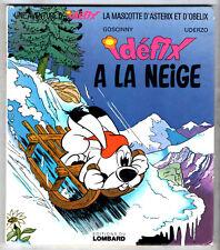 UNE AVENTURE DE LA MASCOTTE D'ASTERIX ¤ IDEFIX A LA NEIGE ¤ EO 1973 LOMBARD