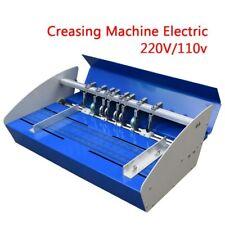 460mm Creasing Machine Electric A3 Paper Creaser Scorer Perforator Paper Cutter