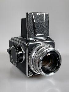 HASSELBLAD 500C CAMERA 80MM C F/2.8 A12 Medium Format Camera Film