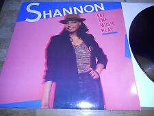 """SHANON """"LET THE MUSIC PLAY"""" 1984 POLYDOR RECORDS WEST GERMANY USED RARE DISCO***"""