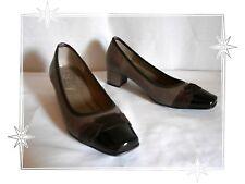 Chaussures Escarpins Fantaisies Beige Marron Noir Shely Pointure 35
