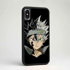 Black Clover Asta Anime Silicone TPU Phone Cover Case for Samsung iPhone