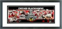 """Chicago Blackhawks 2010 Stanley Cup Champions Photo (Size: 18.5"""" x 42.5"""") Framed"""