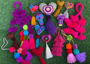"KOLAVAL ""Olivia"" Mexican Handmade Charms"