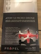 Propel Atom 1.0 Micro Drone Wireless Indoor/Outdoor Quadrocopter - Black