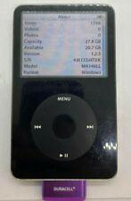 Apple iPod Classic 5th Generation 30GB Black MA146LL As Is