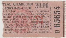 Sammler Used Ticket / Entrada Royal Charleroi SC v AS Oostende 18-10-1964