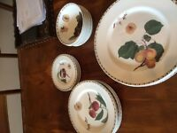 Queens RHS Hookers Fruit tea dinner salad side plate cereal bowl pls choose