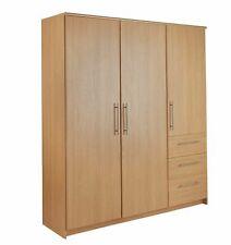 Normandy Oak 3 Door 3 Drawer Extra Large Wardrobe