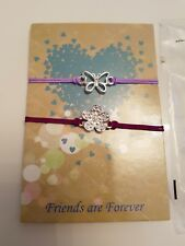 Brand New Avon Carmine Bracelets Purple Forever Friend Friendship